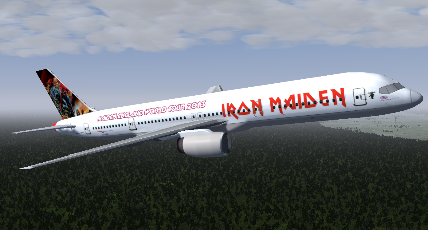 flightgear forum view topic ed force one iron maiden livery. Black Bedroom Furniture Sets. Home Design Ideas